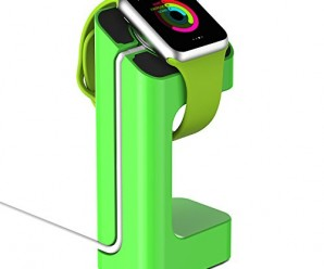 Apple Watch Stand, JETech® Apple Watch Charging Stand/Station/Dock/Platform for 38/42mm Sport Edition All Models (Green)