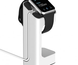 Apple Watch Stand, – Updated Version – JETech® Apple Watch Charging Stand Station Dock Platform for 38/42mm All Models (White)