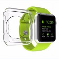 Apple Watch Case, LUVVITT® CLARITY Case for Apple Watch 42mm | Includes TEMPERED GLASS Screen Protector – Full Body Apple Watch Cover and Screen Protector for Apple Watch | Crystal Clear Case for Apple Watch | TPU Flexible Rubber Case | For 42mm Apple Watch – Clear