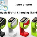 Black Charging Stand for Apple Watch Docking Station Holder for iWatch 38mm 42mm 2015