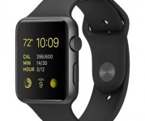 Apple Watch Sport 42mm Case – Space Gray Aluminum – Black Sport Band (MJ3T2LL/A)