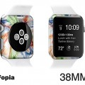 Apple Watch special case-iFopia® EDGE SKIN-Experess your Watch with EDGE SKIN/COLOR_STORM(07)