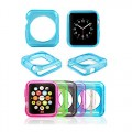 Apple Watch Case,iDream365 Apple Watch 38mm Case-6 Color Combination Pack Protective TPU Case for Apple Watch 38mm (2015) Only+Microfiber Cloth
