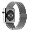 Apple Watch Band, with Unique Magnet Lock, JETech® 38mm Milanese Loop Stainless Steel Bracelet Strap Band for Apple Watch 38mm All Models No Buckle Needed