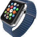 Apple Watch Strap Band – E LV Apple Watch 42 MM – Strap Band High Quality Premium Strap Band Accessories for Apple Watch 42 MM with [ADAPTER] to install – DARK BLUE