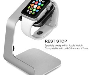 Tranesca Aluminum Alloy Watch Stand for Apple Watch