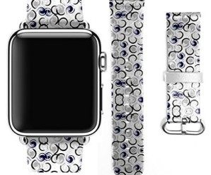 For Apple Watch 38mm Band Unique Curling Pattern