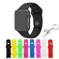 KOMEI Replacement Silicone Gel 8 Pcs  iWatch Straps for Apple Watch Edition Release 2015, 42-mm