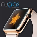 Nuglas® Genuine Premium Real HD Clear Ballistic Glass Screen Protector – Protect Your Screen from Scratches and Drops – Maximize Your Resale Value – 100% Clarity and Touchscreen Accuracy For Apple/Sony/LG/Samsung/HTC (Apple Watch 42mm)