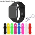 KOMEI Apple Watch Band, Replacement Silicone Gel Strap Wrist Band 8 Pcs iWatch Strap for 42mm Apple Watch / Watch Sport / iWatch Bands (Not Fit 38mm)