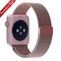 Apple Watch Band, BRG® 38mm Milanese Loop Stainless Steel Bracelet Strap Replacement Wrist Band for Apple Watch with Magnet Lock (Original Rose Gold- 38mm)