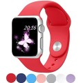 Apple Watch Band, Top4cus® Sport Preferred Safe and Comfortable Silicone Replacement Iwatch Band for 42mm Watch , Not Fit for 38mm Watch (42mm M/l Red)