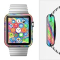 The Neon Color Fusion V9 Full Wrap Skin Set for the Apple Watch