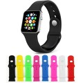 [8 Color] Apple Watch Band, Auskic Soft Silicone Replacement Wrist Band iWatch Wrist Strap for Apple Watch / Watch Sport / iWatch Band for 42mm Apple Watch Models (Not Fit Apple Watch 38mm)