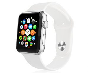 iXCC ESWSSASASADA Apple Watch Band – White