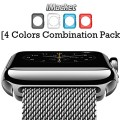 Apple Watch Case, iMacket – TPU Cases [4 Color Combination Pack] for Apple Watch / Watch Sport / Watch Edition iWatch New Release 2015 (38 mm)