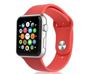iXCC abc97123xSWSWSW Apple Watch Band – Coral
