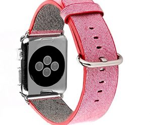 Apple,Watch,Band,Nylon,Febite Latest Fine Woven Nylon Replacement Wrist Band Strap Classic Watchband