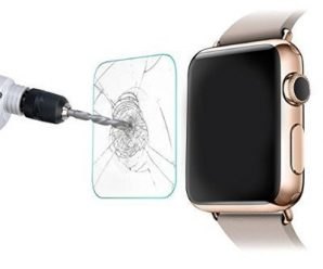 *****0.08mm World's Thinnest***** Apple Watch Screen Protector, Surpass® NEW Explosion Proof Tempered Glass Ultra-thin Clear Drop-proof Screen Protector for Apple Watch ((42mm))