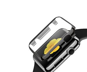 Apple watch case,iitee(tm) Electroplate Slim Case with Screen Protector for Apple Watches(38mm gray)