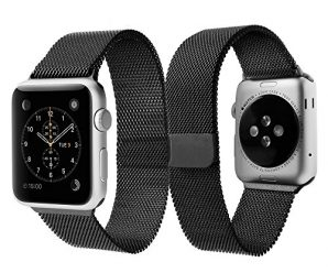 Apple Watch Band, Spigen® Apple Watch Milanese Loop Band Space Gray [42mm] Magnetic Latch system – Space Gray (032WB20343)
