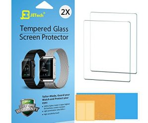 Apple Watch Screen Protector, JETech 2-Pack 42mm Premium Tempered Glass Screen Protector for Apple Watch Serial 1 and 2 – 0870