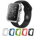 Silicone Alley, Apple Watch [38mm] Bumper Case [Series 1] / Perfect Match & Fit for Bands [Set of 5] (Band Not Included)