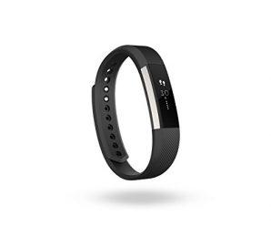 Fitbit Alta Fitness Tracker, Silver/Black, Small (US Version)