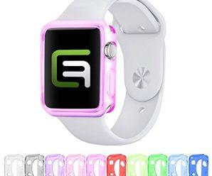 Case cover bundle for Apple Watch – MV (42mm Apple Watch 1 – 10-pack: Value Bundle) – Only for Apple Watch Series 1