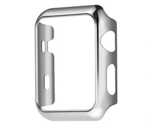 Apple Watch Case Series 2 Vanki Thin PC iWatch Protective Cover for 38mm 42mm (42mm, Silver)