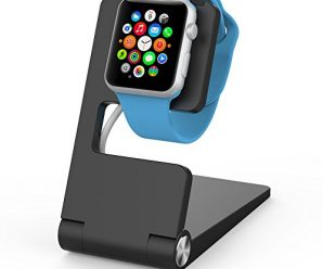 Element Works USA EW-AWST2-BK Foldable Aluminum Charging Stand for Apple Watch – Black