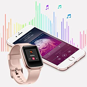 Smart Watches with Music Controller