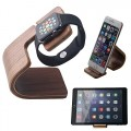 Apple Watch Stand, Mkeke@ [Charging Dock] Apple Watch Charging Stand [Apple Watch Stand], Iwatch Wood Charging Stand Bracket Docking Station Stock Cradle Holder for Both Apple Watch 38mm and 42mm (Std005 Wood)