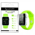 LUVVITT® HD ULTRA CLEAR Screen Protector for Apple Watch 38mm (3x Pack) | for Apple Watch / Watch Sport / Watch Edition – Crystal Clear