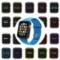 Orzly® 20-in-1 ULTIMATE PACK of Face Plates for APPLE WATCH (38 MM Version) – Multi Pack of 20 Interchangeable Silicon Gel Covers in ASSORTED COLORS (Each Flexible Skin Cover included in this pack is of a Different Color and Custom Designed to fit every 38mm model of AppleWatch)