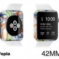Apple Watch waterproof Sepcial accessories case for making(customizing) new apple watch with EDGE SKIN-iFopia®/COLOR_STORM(08)