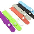 Alpha-x 7 Color Watch Replacement Bands for Apple Iwatch (38mm 7pcs Daily Colors)