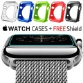 IMPAQT Apple Watch Cases: Dual-Layer Design for Maximum Impact Absorption and Easy Access – Five Cases Plus Armorsuit Screen Protector for 42mm Watches – Guaranteed Apple Watch Accessories