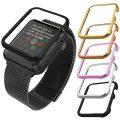 Apple Watch Case(38MM), Bandmax Lightweight Black Gun Plated Hard Protective Case for Apple Watch/Watch Sport/Watch Edition