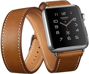 Apple Watch Band, Genuine Leather 38mm Strap iWatch Band by with Classic Metal Buckle for 38mm Apple Watch & Sport & Edition (for 38mm)